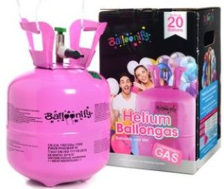 Helium do balónků 20