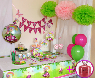 Víly party set Helium