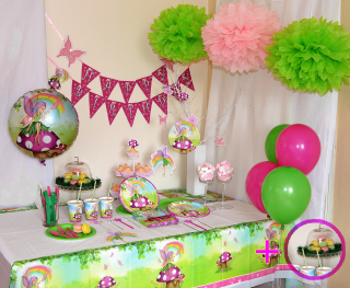 Víly party set Makronky